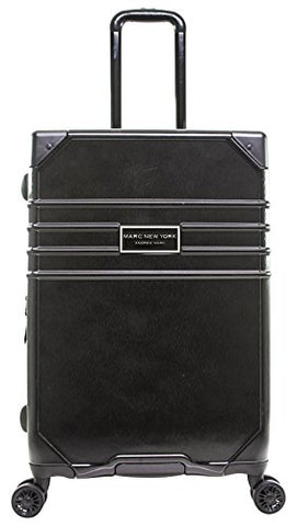 "Marc New York Classic 24"" Expandable Hardside Spinner, Black"