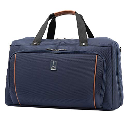 Travelpro Crew Versapack Weekender Carry-on Duffel Bag W/Suiter, Patriot Blue, One Size