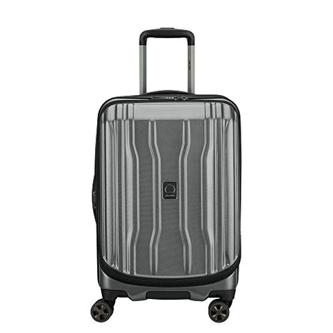 DELSEY Paris Luggage Cruise Lite Hardside 2.0 Carry-on Expandable Suitcase, Platinum