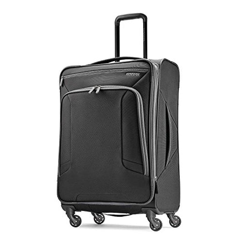 "American Tourister 4 Kix 25"" Spinner Black/Grey"