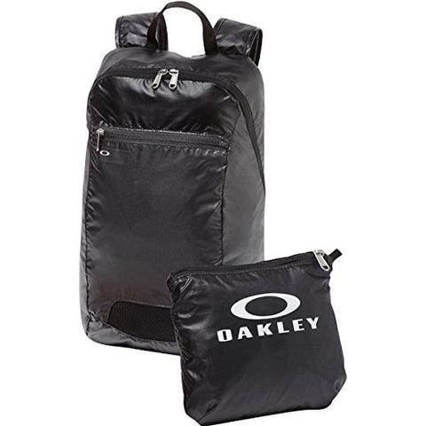 Oakley Mens Packable Backpacks One Size Blackout