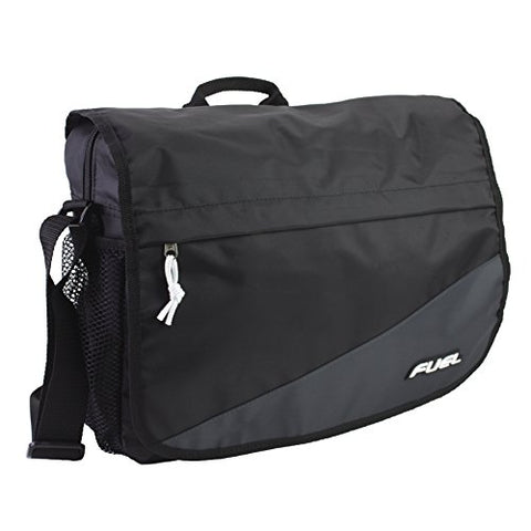 Fuel Tech Messenger Bag, Black