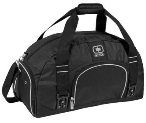 Ogio Big Dome Duffle Bag (Black)