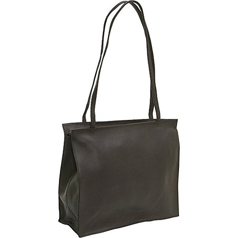 Le Donne Leather Simple Tote (Cafe)