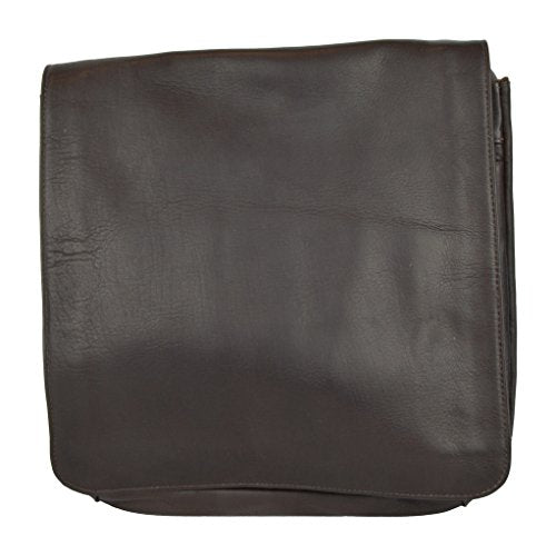 Latico Leathers Yosemite Laptop Messenger Bag (MD) in Café, 100% Authentic Leather, Made in India