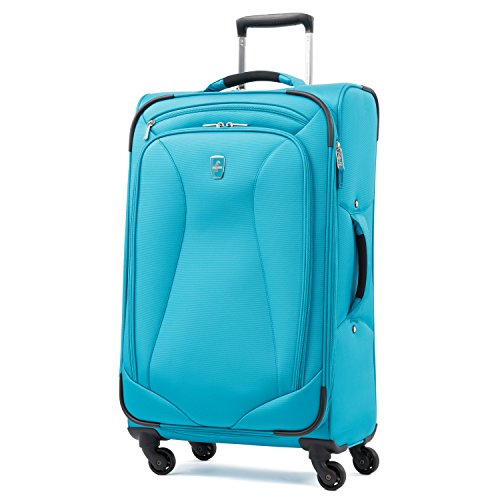 "Atlantic Ultra Lite Softsides 25"" Expandable Spinner, Turquoise Blue"