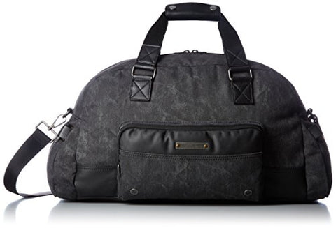Diesel Men'S Supergear Touch Gear Duffle Bag, Treated Black/Black