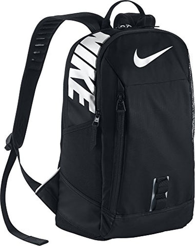 Nike Ya Nike Alpha Adapt Rise Solid Boys Childrens-School-Backpacks Ba5344-010 - Black/Black/White