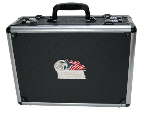 T.Z. Case International 2Nd Amendment Double Duty Pistol Case, Black, 18-Inch