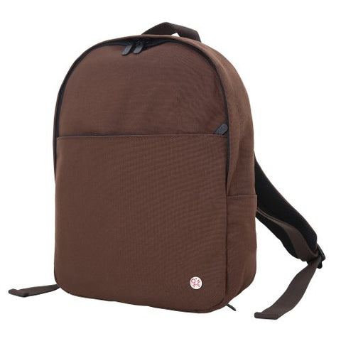 Token Bags University Backpack, Dark Brown, One Size