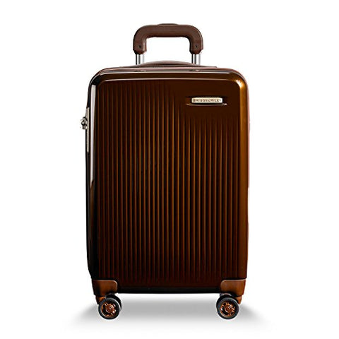 Briggs & Riley Tall Carry-On Expandable Spinner, Bronze