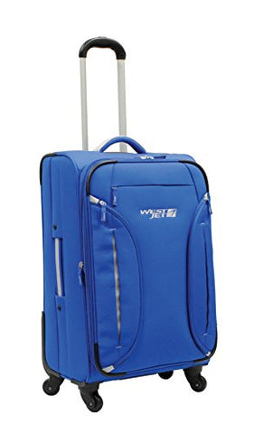 Westjet Feather Lite Lightweight Luggage Exp. Spinner 24""