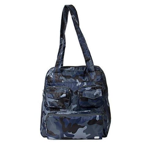Lug Women'S Puddle Jumper Packable Duffel Bag, Camo Navy, One Size