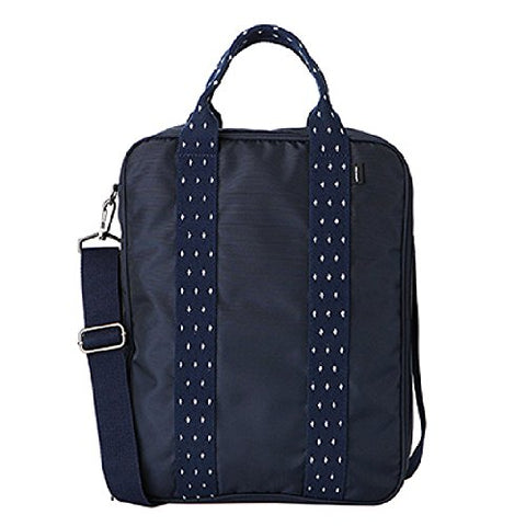 Notag Travel Duffel Bag, Carry On Luggage Shoulder Tote Bag, 3 Ways Large Capacity Crossbody Bag With Removable Shoulder Strap For Weekender Overnight - Hand Carry Underseat Luggage (Navy Blue)
