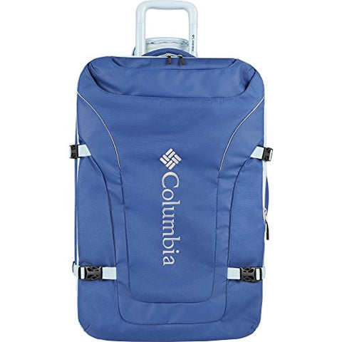 "Columbia Free Roam 21"" Expandable Rolling Carry Light Blue"