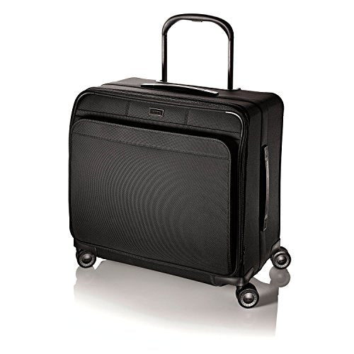 Hartmann Ratio Long Journey Glider, Spinner Nylon Luggage in Black
