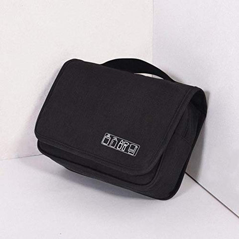 Hakazhi Inc Multifunctional Portable Folding Travel Storage Bag Wall Mounted Hanging Cosmetic Bag