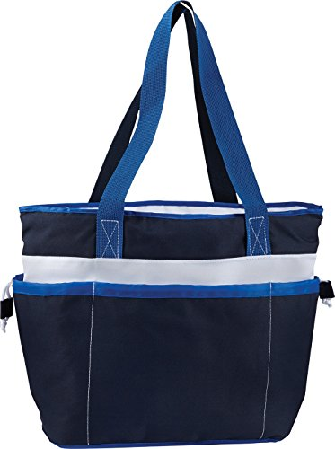 Zuzify Large Insulated Cooler Tote Bag. Fx1092 Os Navy Blue