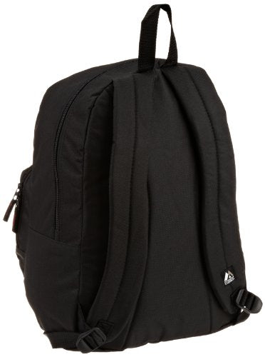Everest Luggage Classic Backpack With Front Organizer, Black, Medium