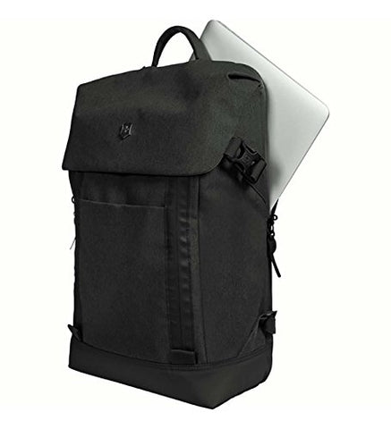 Victorinox Altmont Classic Deluxe Flapover Laptop Backpack, Black, One Size