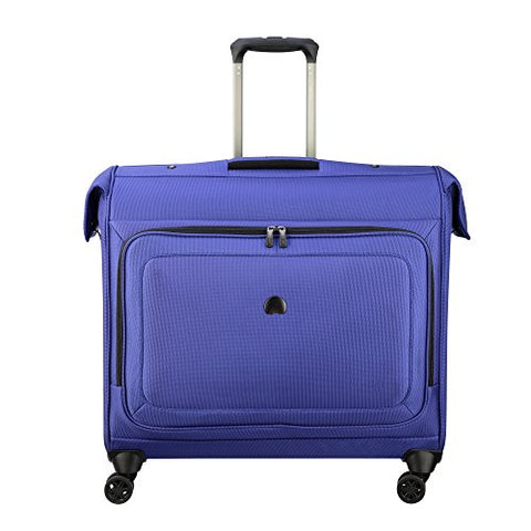 Delsey Luggage Cruise Lite Softside Spinner Trolley Garment Bag, Blue