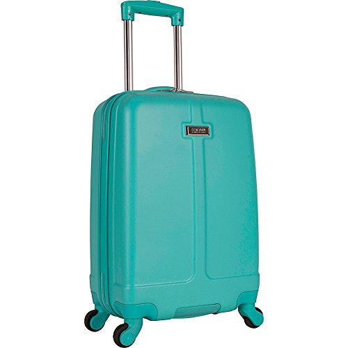 "Kenneth Cole Reaction Women's 20"" Abs 4-Wheel Upright Carry-on Luggage, Teal"