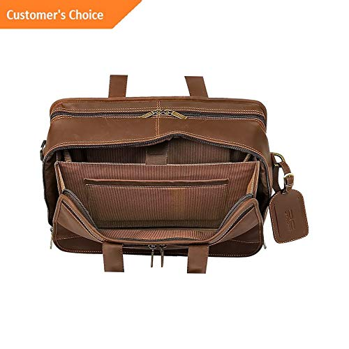 Sandover ClaireChase Executive Briefcase 4 Colors Non-Wheeled Business Case NEW | Model LGGG - 7461