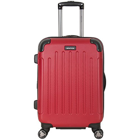 "Kenneth Cole Reaction Renegade 20"" Hardside Expandable 8-Wheel Spinner Carry-on Luggage, Red"