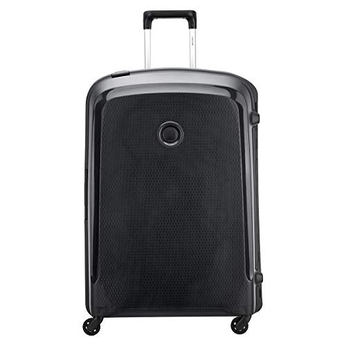 Delsey Paris BELFORT 3 Hand Luggage, 82 cm, 143 liters, Black (Schwarz)