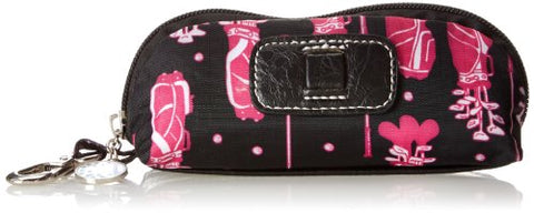 Sydney Love Fuchsia Golf Three Golf Ball Cosmetic Case,Multi,One Size