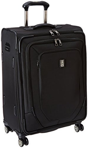 Travelpro Crew 10 25 Inch Expandable Spinner Suiter, Black, One Size