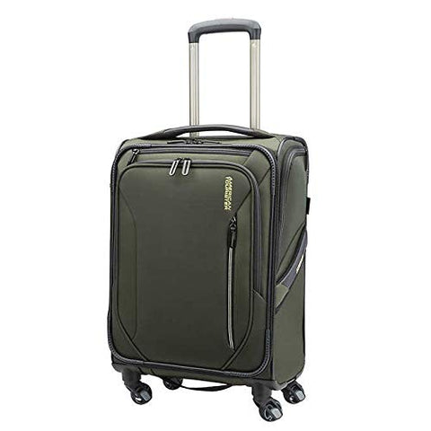 "American Tourister GO 2 Softside 21"" Carry-On - Hunter Green"