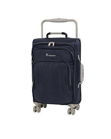 "It Luggage World'S Lightest 22"" 8 Wheel Lightweight Carry-On, Evening Blue"
