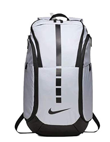 Nike Hoops Elite Pro Basketball Backpack White/Black/Black
