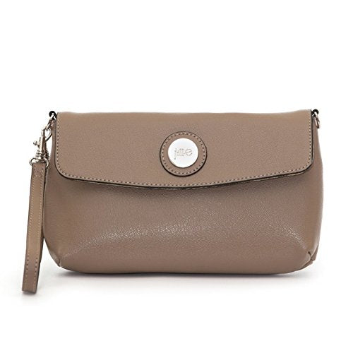 Jill-e Designs Essential Leather Smartphone Wristlet, Taupe (373564)