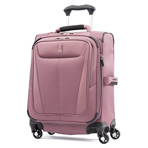 "Travelpro Luggage Maxlite 5 20"" Lightweight Carry-On Intl Expandable Spinner Suitcase, Dusty Rose"