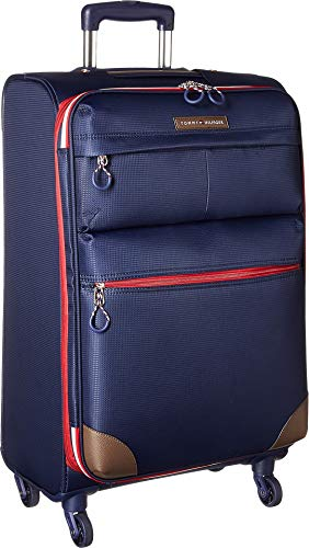 "Tommy Hilfiger Unisex Glenmore 25"" Upright Suitcase Navy One Size"