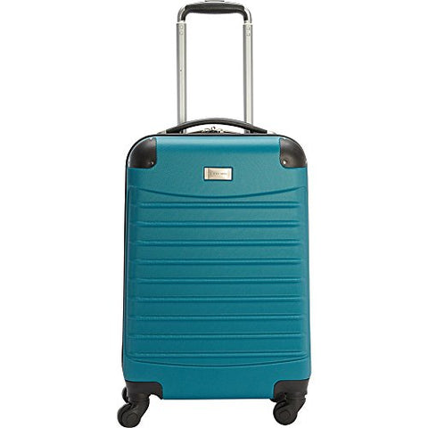 Geoffrey Beene 20 Inch Hardside Vertical Luggage, Teal, One Size