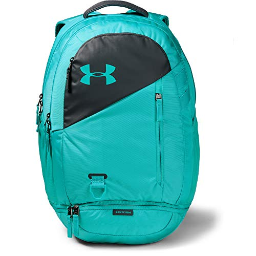 Under Armour Unisex Hustle 4.0 Backpack, Breathtaking Blue//Breathtaking Blue, One Size Fits All