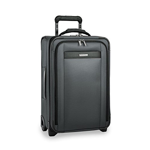 Briggs & Riley Transcend Tall Carry-On Expandable Upright, Slate