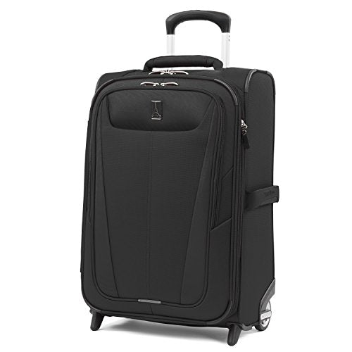 Travelpro Luggage Expandable Carry-On, Black