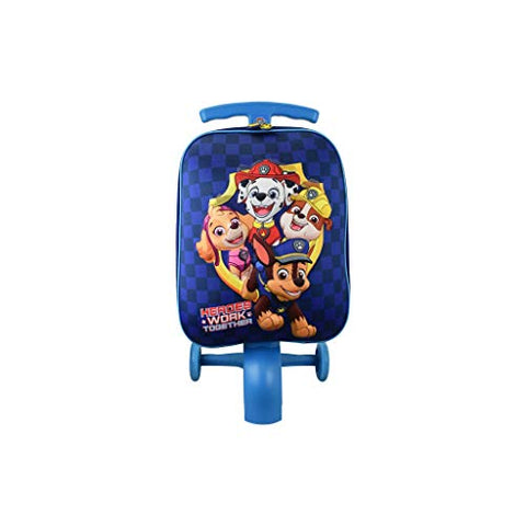 ATM Kid's Paw Patrol Boy Blue Scootie Luggage