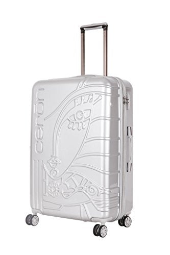 Triforce Embossed Ceron Vivi 30 Inch Spinner Luggage