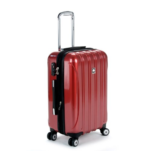 "DELSEY Paris Luggage Helium Aero 21"" Carry-On Expandable Spinner Trolley, Brick Red"
