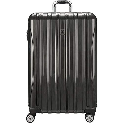 Delsey Helium Aero Expandable Spinner Trolley - 29 Inch (Carbon Grey)