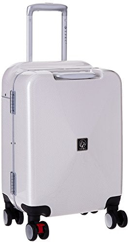 "TPRC Seat-On 20"" Aluminum Frame Hardside Carry-On with Ergonomic Seating Area on Top of Luggage"