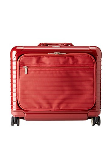 Rimowa Salsa Deluxe Hybrid Business Multiwheel 42L Spinner Luggage, Red.