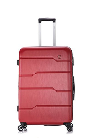 DUKAP Luggage Rodez Lightweight Hardside Spinner 28'' inches Red