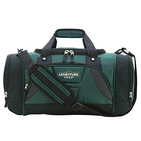 "TPRC 24"" Weekender Nylon Duffle, Forest Green Option"