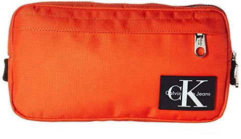 Calvin Klein Men's Ballistic Nylon Sling, Orange, NO NO SIZE